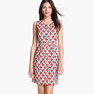 Kate Spade Geometric Print Dress Size 0